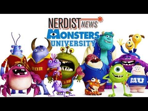 NATHAN FILLION & CHARLIE DAY scare up Monsters University - Nerdist News
