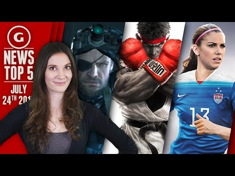 FIFA Gets Women Cover Stars, Street Fighter 5 DLC Will Be Free! - GS News Top 5