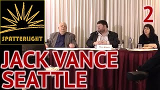 Jack Vance at Norwescon 25 Seattle 2002 - Part 2: Travelling