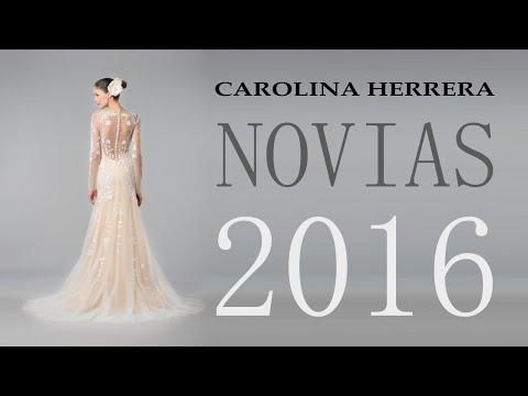 Vestidos de Novia 2016: Carolina Herrera Colección Otoño Invierno