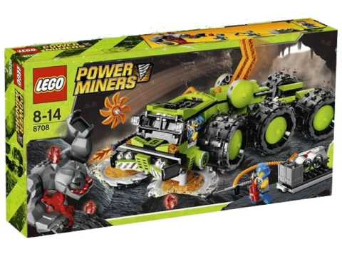 Power Miners Cave Crusher and Underground Mining Station Pictures!