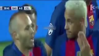 Liga Champion  Barcelona vs Celtic 7-0   All Goals  Full Highlights   13 -09 -2016