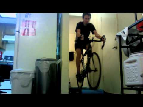Riding Tacx Antares Rollers