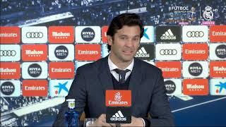 Real Madrid 0-1 Barcelona Rueda de prensa post SOLARI Liga Jornada 26 (02/03/19)