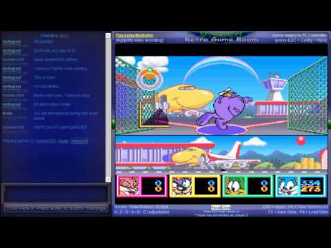 Tiny Toon Adventures - Wacky Sports Challenge - Vizzed Netplay Summer Tournament Week 3 - Tiny Toon Adventures / Team Kogarasumaru VS Team Endermen - User video