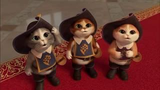 """Самый смешной мультфильм. """"Кот в сапогах и три чертёнка"""" Мультфильм в хорошем качестве"""