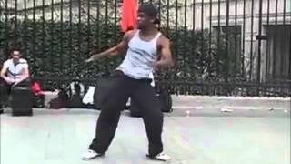 Amazing Street Dancer paris,pedazo de negraco