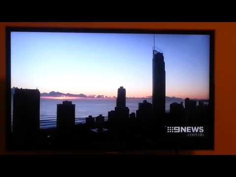 9 Gold Coast News - Weather report (7/1/2016)