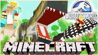 "MineCraft Jurassic World ""RolePlay"" How To Train Your Dino Ep.1"