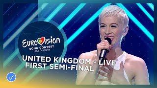 SuRie - Storm - LIVE - United Kingdom - First Semi-Final - Eurovision 2018