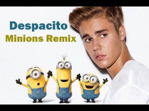 Despacito(Minions Version)- despicable me 3 | Justin Bieber | Luis Fonsi |Daddy Yankee