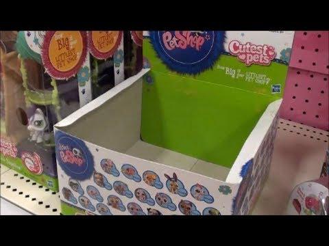 Pet Shop Walkables Shopping For Littlest Pet Shop