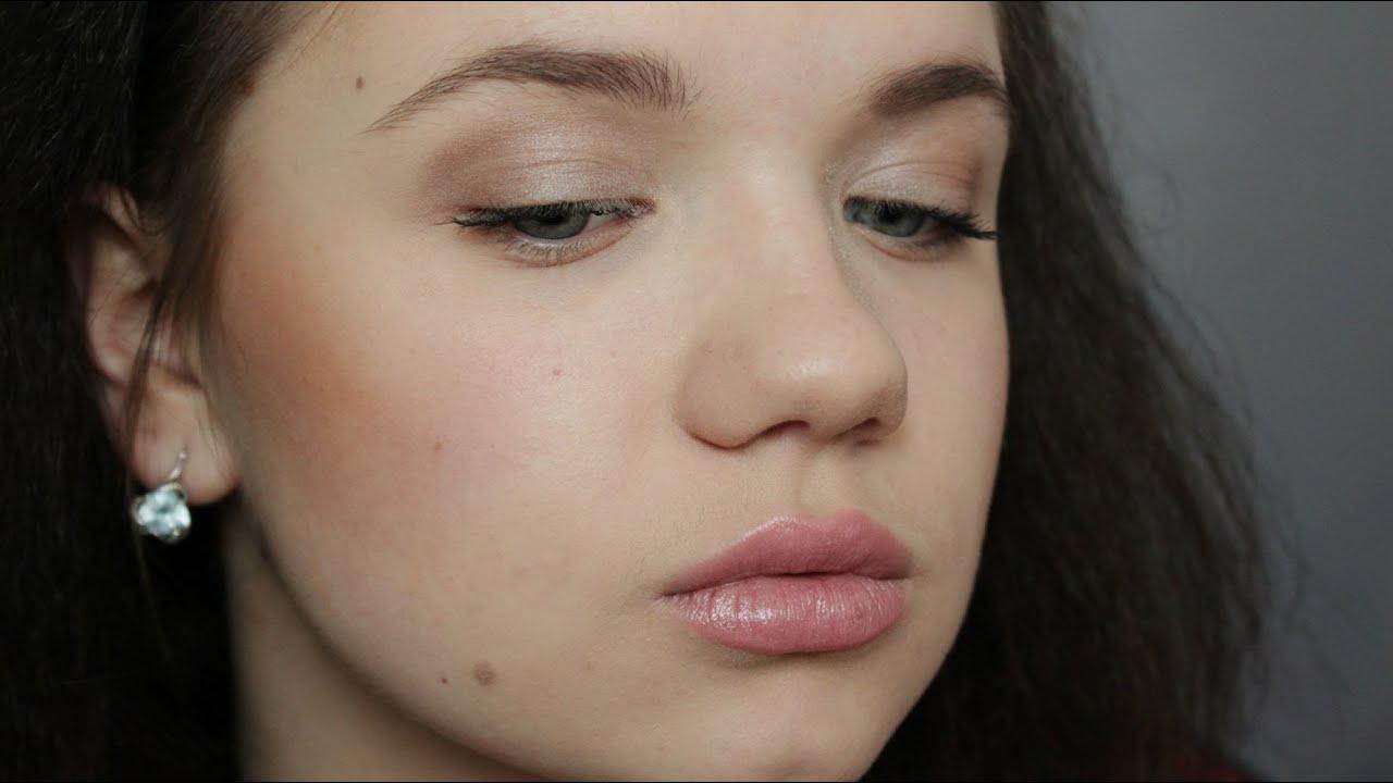 Лёгкий макияж в школу фото