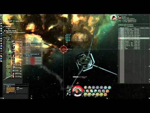 EvE Online: Angel Extravaganza - 4 lvl Dominix Navy Issue