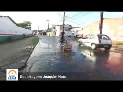 Moradores da Tomé de Souza sofrem com alagamentos