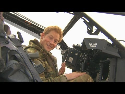 The Royal Wee - Prince Harry's guide to peeing in a helicopter