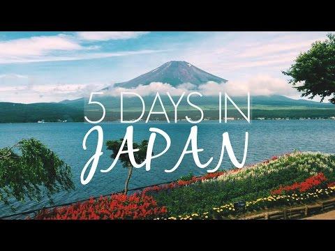 5 Days in Japan: Tokyo, Harajuku, Shibuya, Fuji & Hakkone