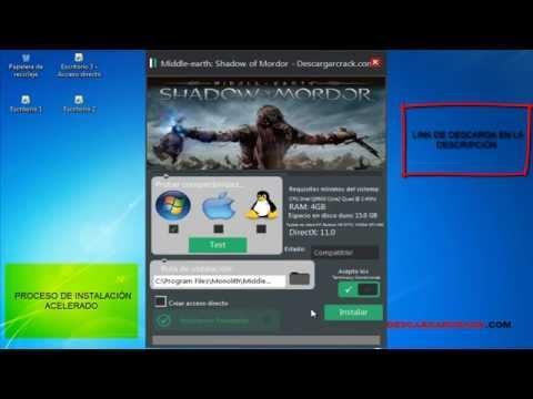 [Tutorial] Descargar e instalar Middle-earth Shadow of Mordor para PC FULL