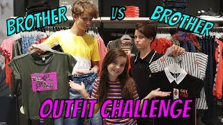BROTHER vs BROTHER BACK TO SCHOOL OUTFIT CHALLENGE met BIBI, HUGO, TOBIAS