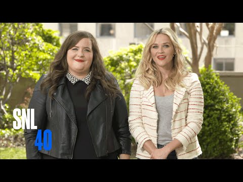 SNL Host Reese Witherspoon and Aidy Bryant Ditch Promos
