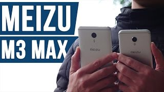 Meizu M3 Max - добротный фаблет на Android 6.0 не для игр - review - unboxing