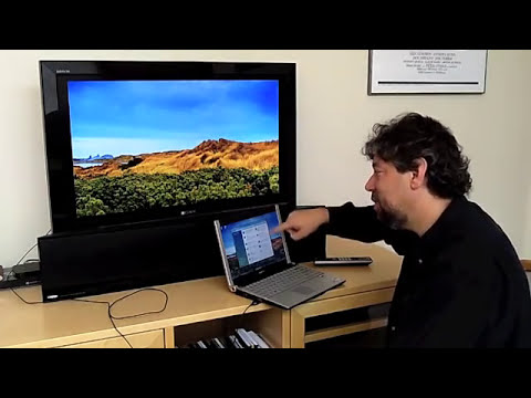 How to Stream Video From Your Laptop to HDTV