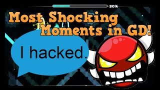 TOP 10 MOST SHOCKING EVENTS IN GEOMETRY DASH