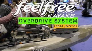 NEW FeelFree Overdrive Pedal System On Lure 11.5 Angler Kayak