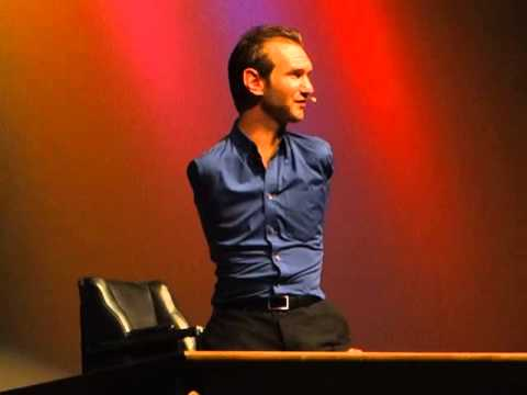 Nick Vujicic- A Minister of Hope.  Love Without Limits Utah service at Roy High School 3-7-13.