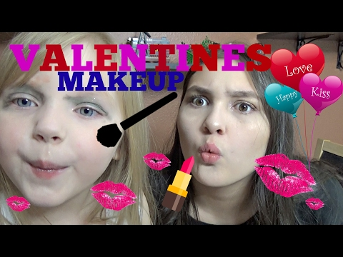 Valentines MAKEUP with the TOYTASTIC SISTERS! Best MAKEUP ever! Tutorial Time!