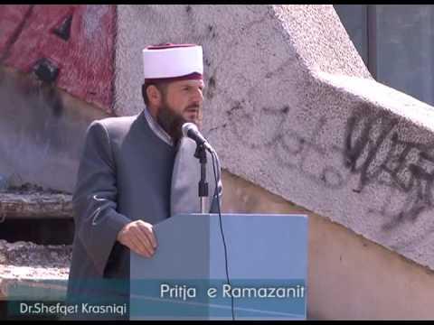 """""""Pritja e Ramazanit"""" - Ligjërues: Hoxhë Dr. Shefqet Krasniqi"""
