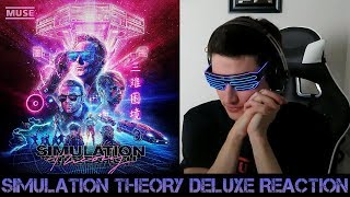 First Reaction To Muse Simulation Theory Deluxe Tracks