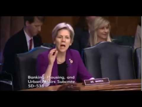 Senator Elizabeth Warren Returning Private Capital to Mortgage Markets - Housing Finance Reform NEW