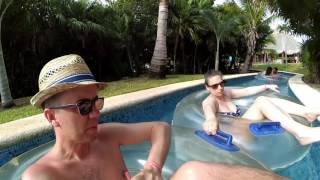 Lazy River - Grand Sirenis Resort and Spa - HD1080p