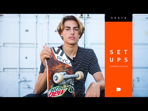 Setups: Curren Caples Reveals His Skateboard Setup