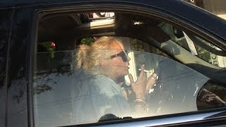 Lindsay Lohan Smoking Upon Arrival To Malibu House Party [2011]