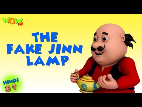 The Fake Jinn Lamp- Motu Patlu in Hindi - 3D Animation Cartoon -As on Nickelodeon thumbnail