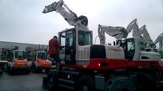 Brand NEW Takeuchi TB1160W #Wheeled #Excavator