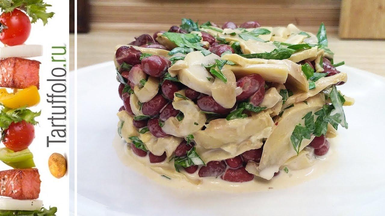 Быстрые вкусные салаты с и рецептами