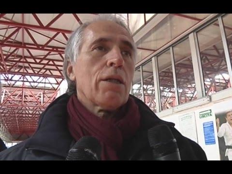 Napoli - Il presidente del Coni al PalaVesuvio: