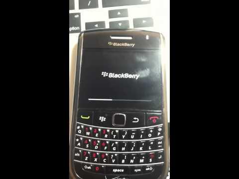 Blackberry Won't Start Up