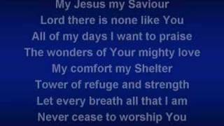 Shout To The Lord (worship video w/ lyrics)