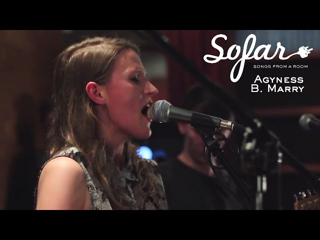 Agyness B. Marry - My Name is New | Sofar Warsaw (#1316)