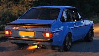 Ford Escort Mk2 Compilation - Leaving Car Meets