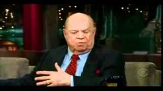 Denzel and Rickles on Letterman 2008