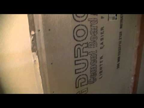 tile backer board installation tips youtube. Black Bedroom Furniture Sets. Home Design Ideas