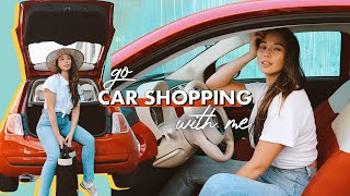 Come Car Shopping With Me | Aja Dang