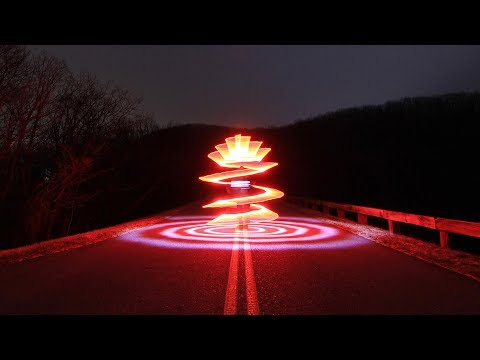 Light Painting Tutorial, How To Light Paint A Spiral
