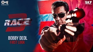 First Look of Bobby Deol as Yash | Race 3 | Remo D
