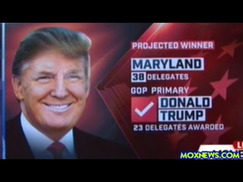 DONALD TRUMP WINS PENNSYLVANIA! MARYLAND! AND CONNECTICUT! HILLARY WINS MARYLAND!